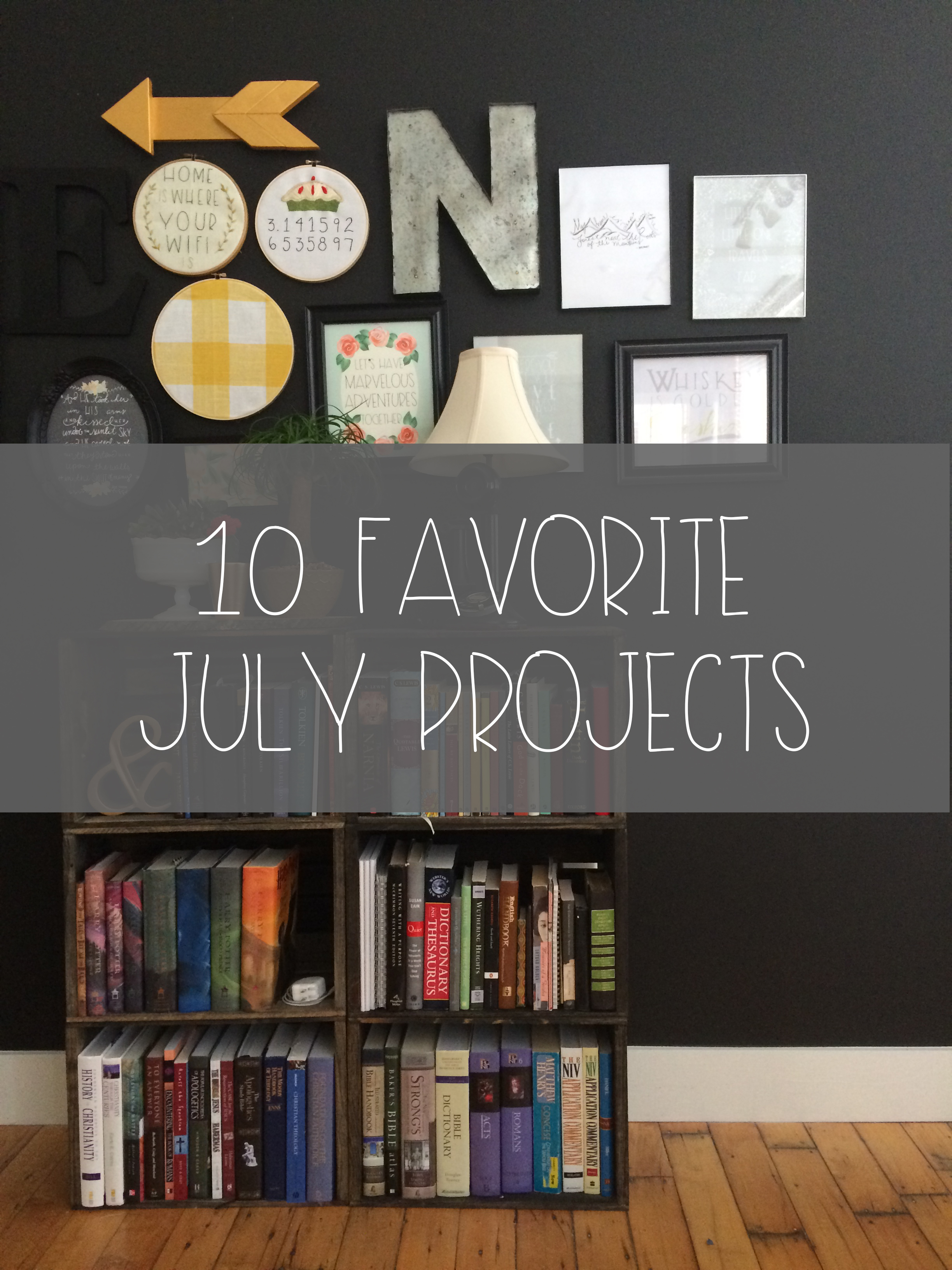 10 Favourite July Projects -Featured | Red Autumn blog