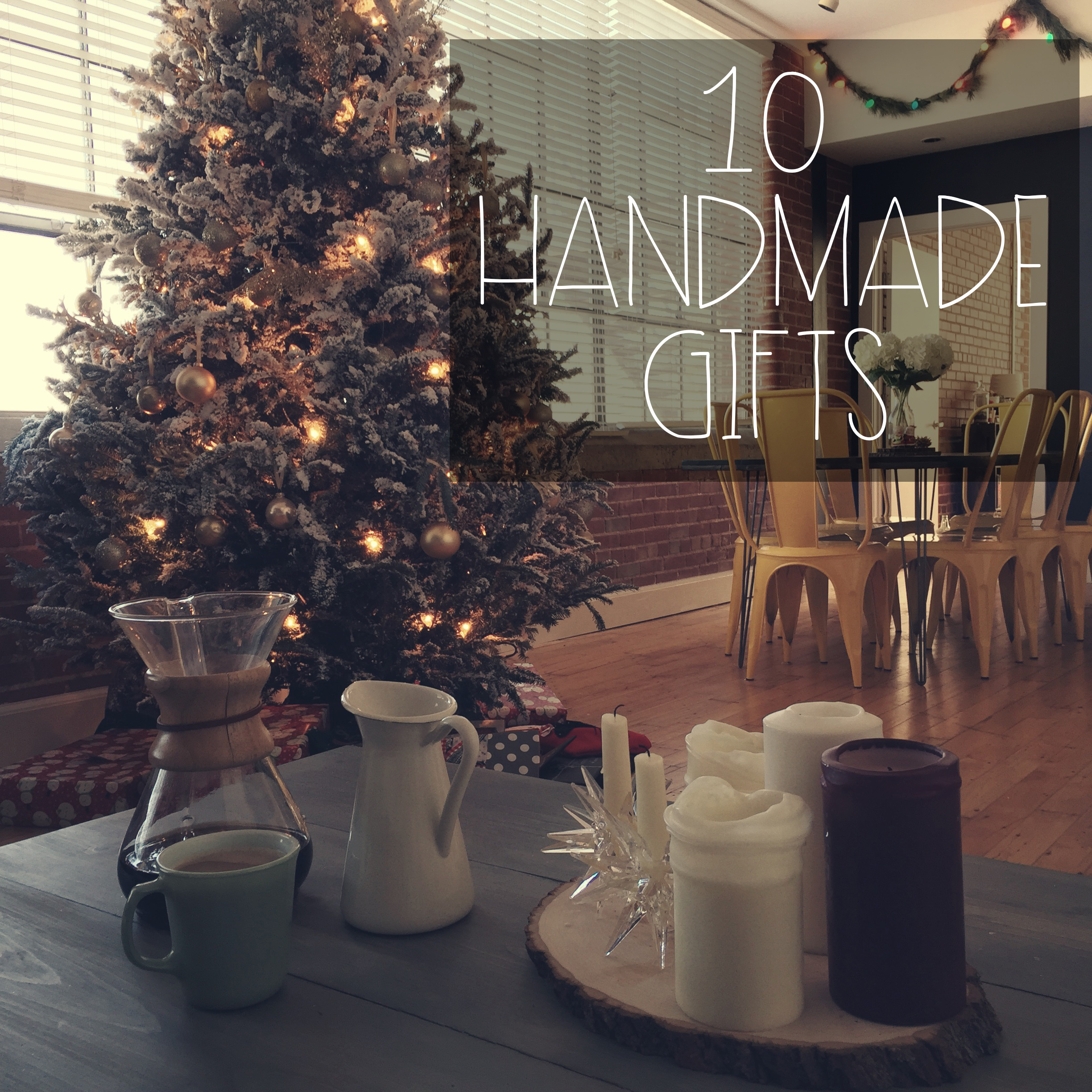 10 Handmade Gifts | Red Autumn Co