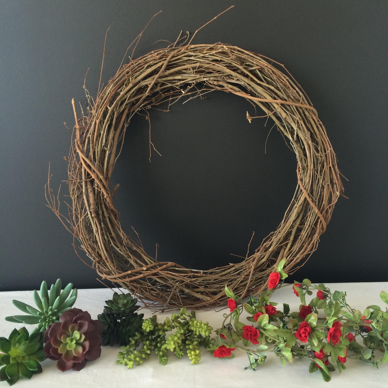 Hobby Lobby Wreath DIY | Mrs Amber Apple blog