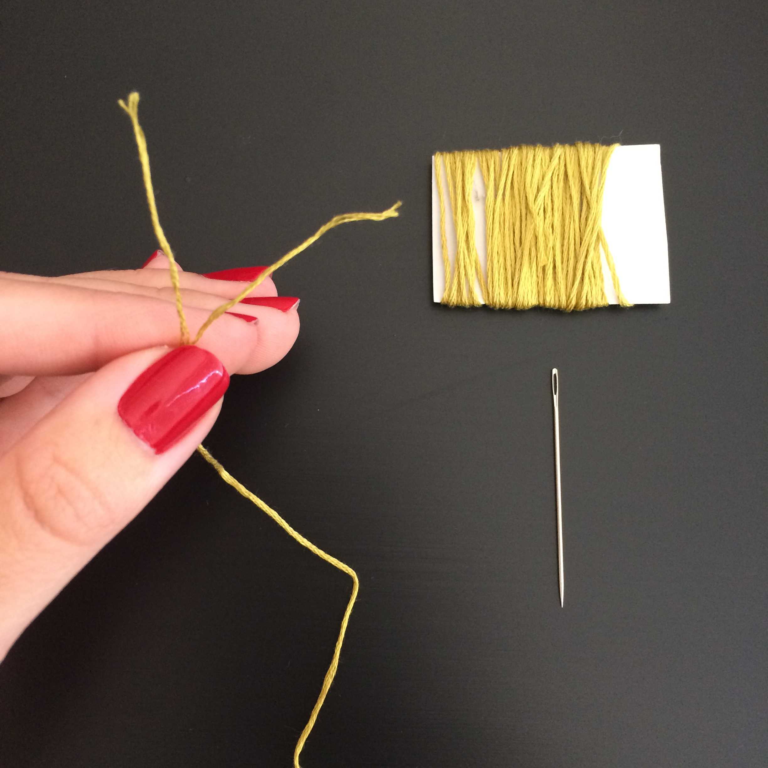 Embroidery Floss | Mrs Amber Apple Blog
