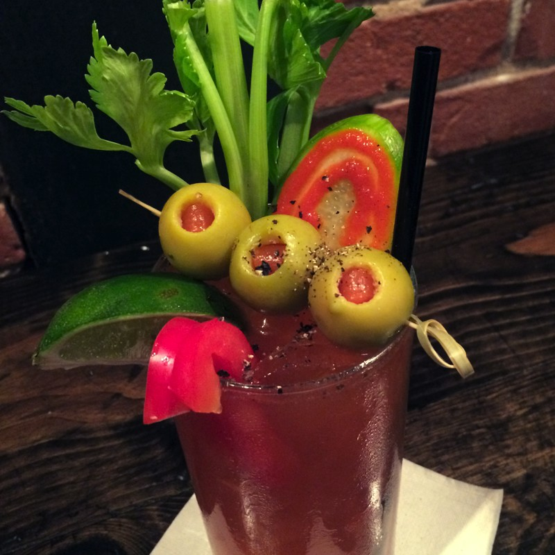 Close Up, Bloody Mary