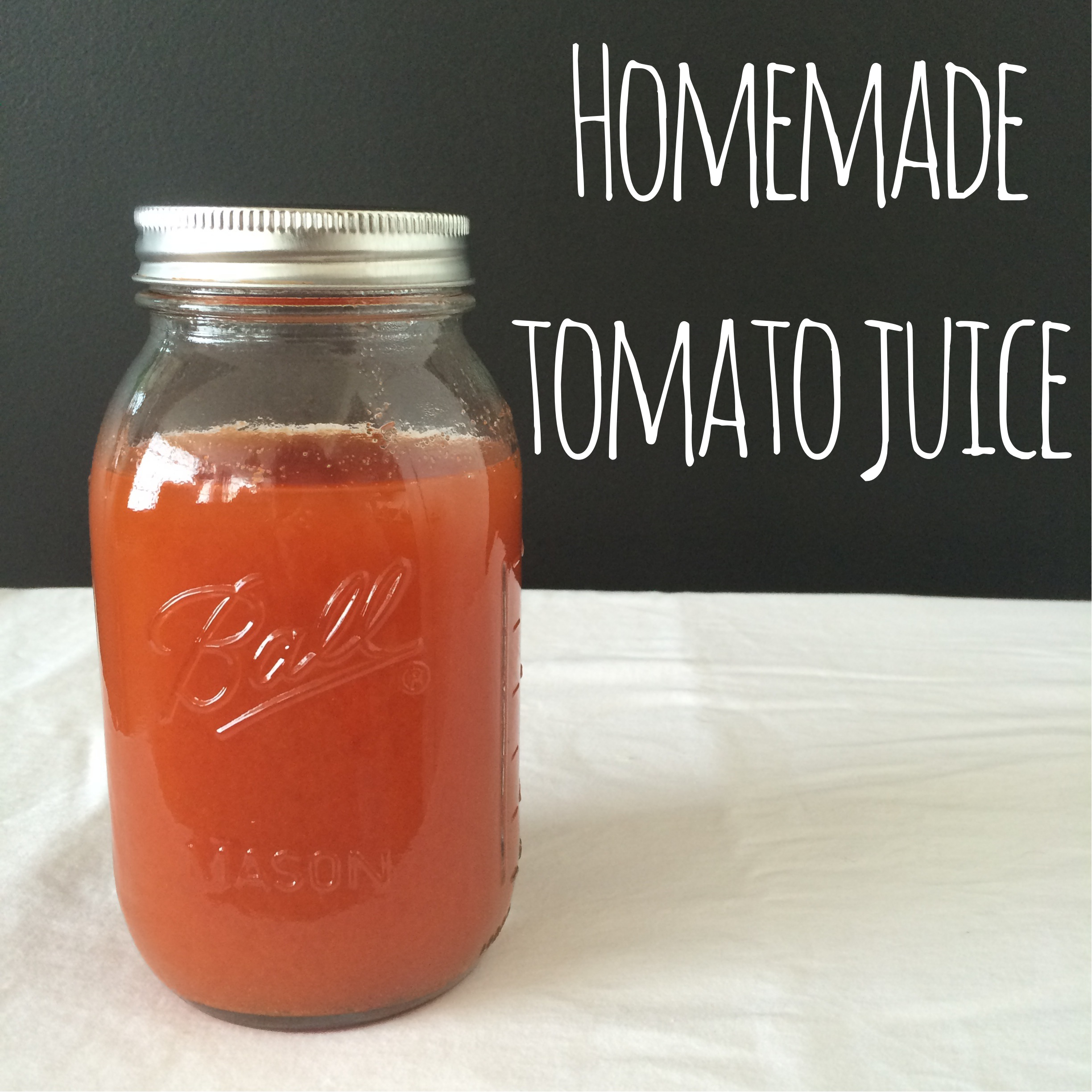 Homemade Tomato Juice | Mrs Amber Apple blog