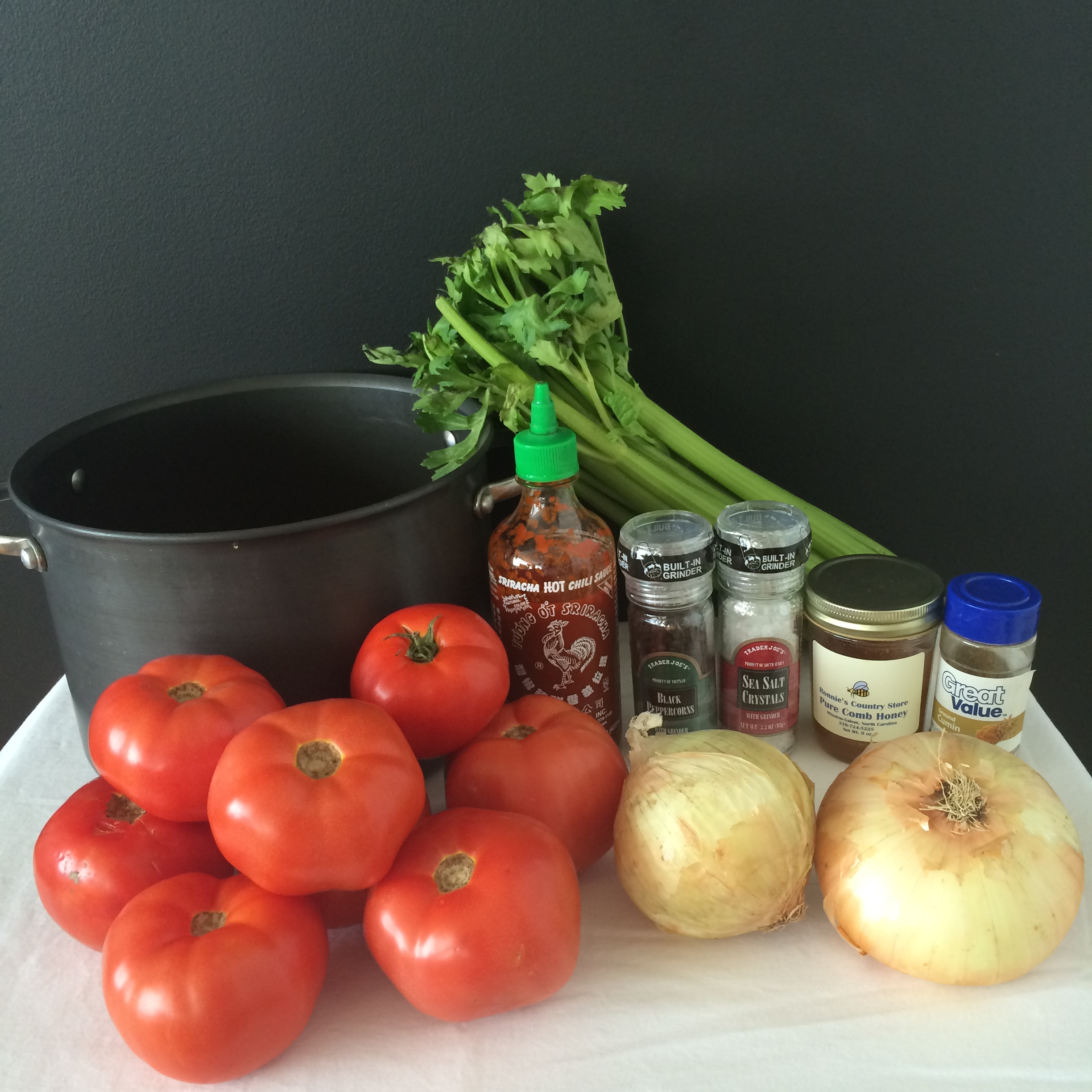 Ingredients for Tomato Juice | Mrs Amber Apple blog