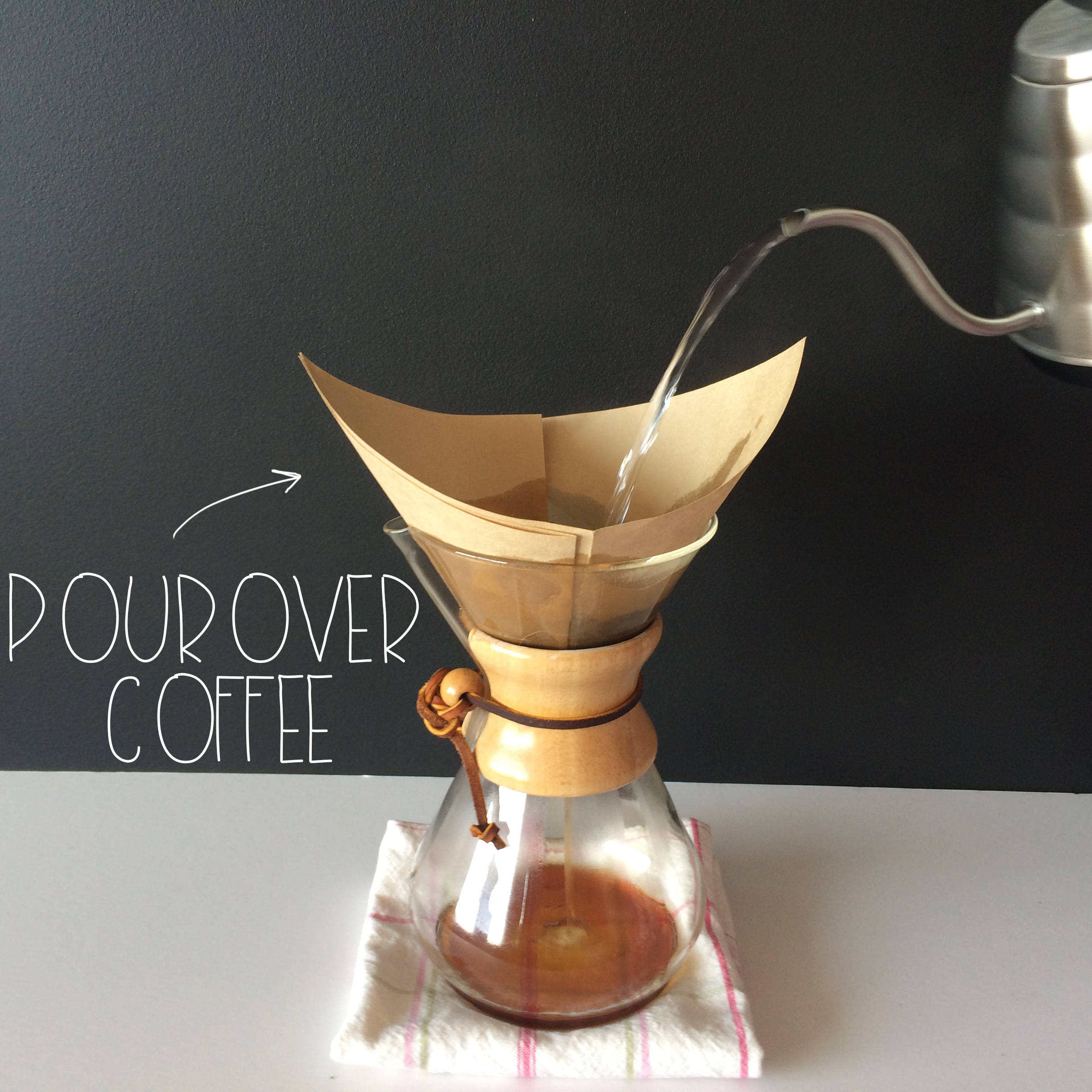 Pour Over Coffee | MrsAmberApple blog