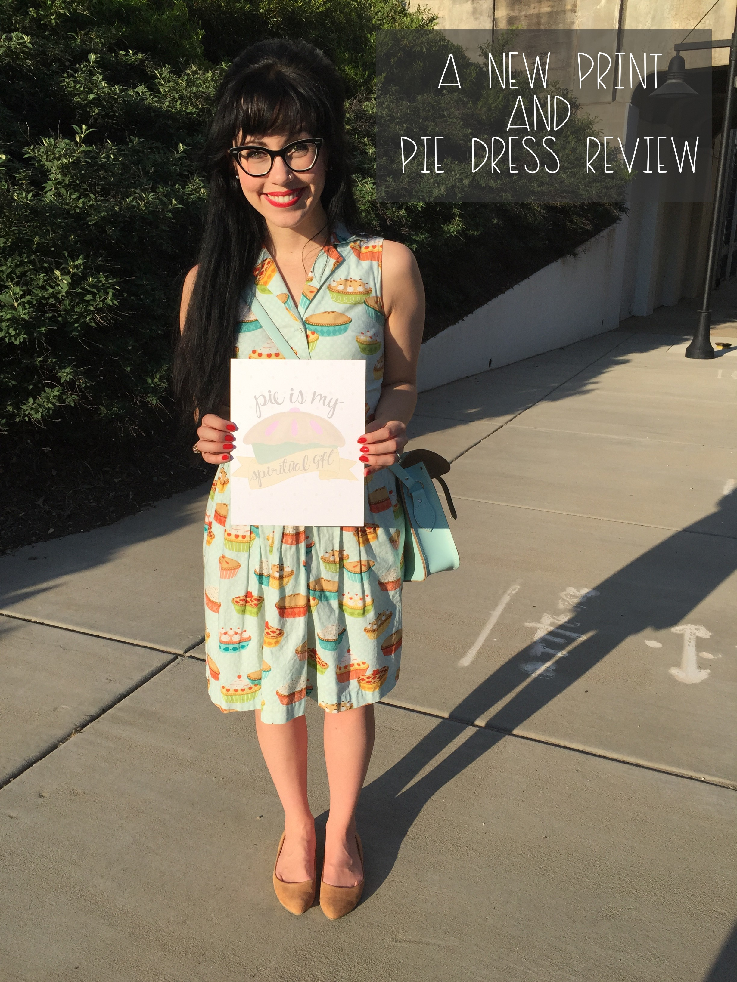 A New Print & Pie Dress Review