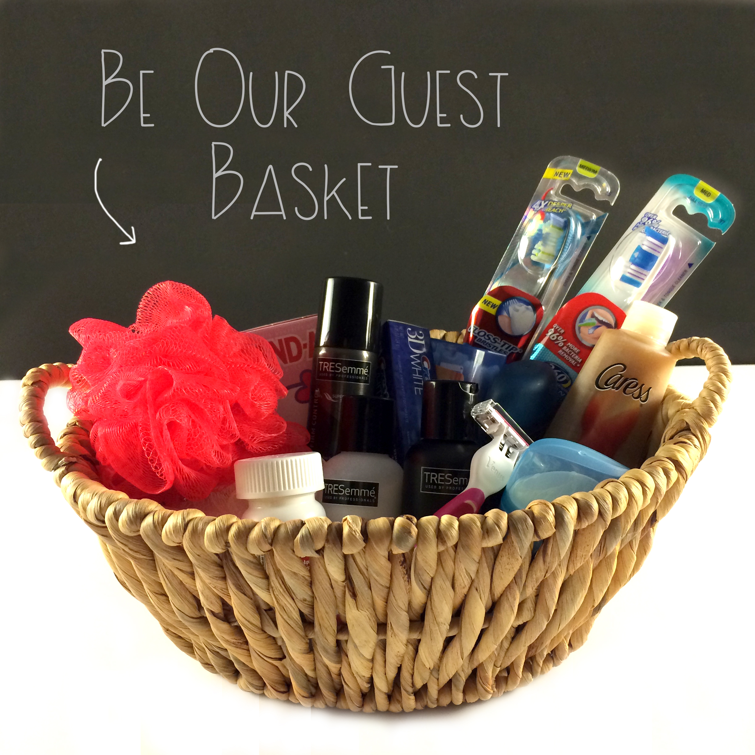 Be Our Guest Basket | Red Autumn blog