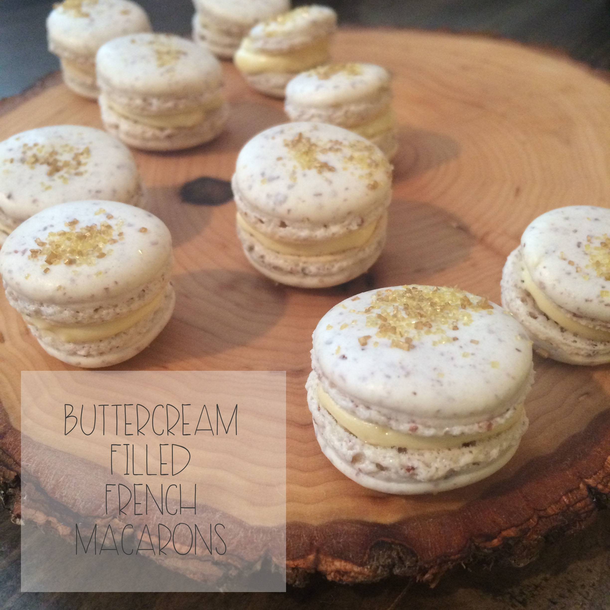 Buttercream filling French Macarons | Red Autumn Co copy