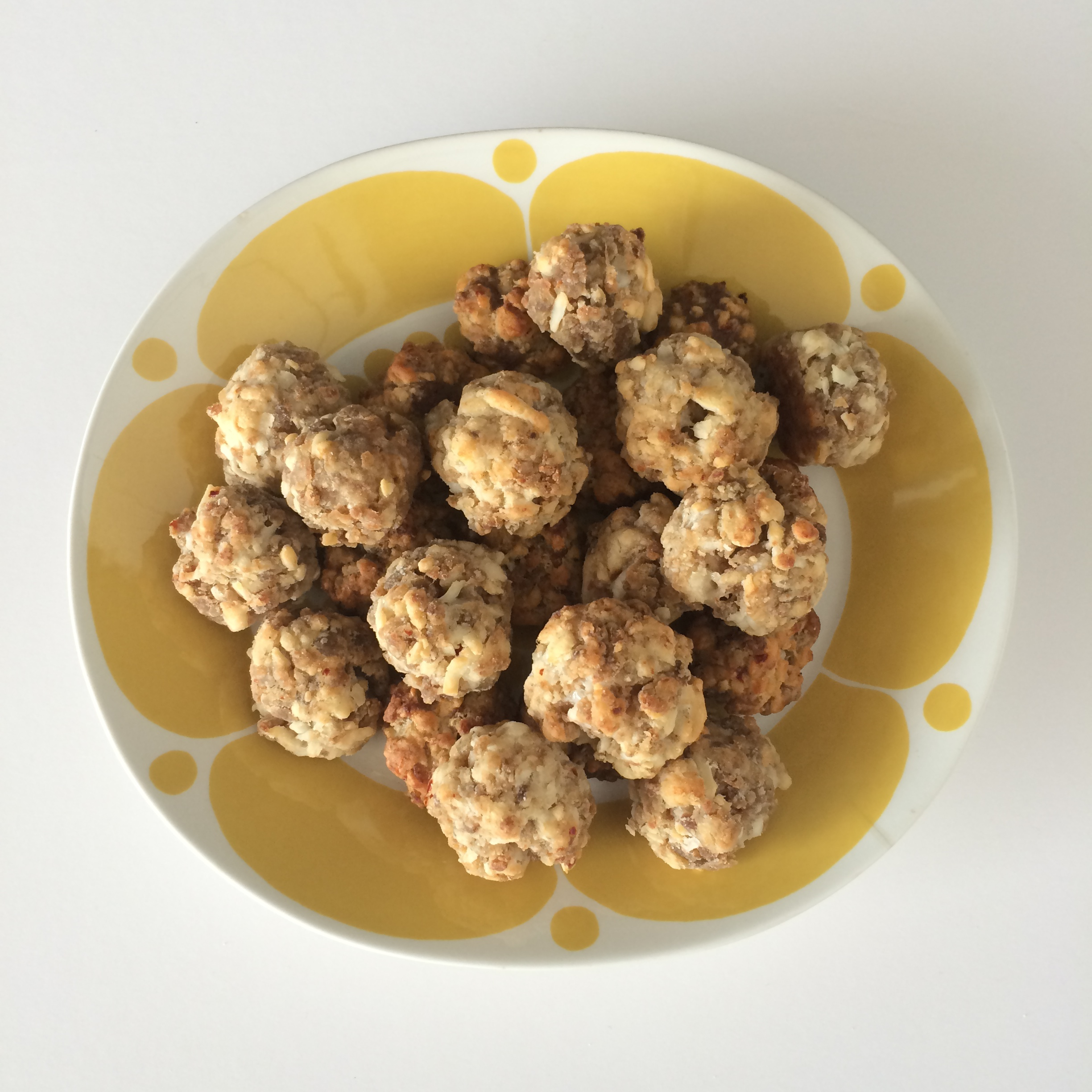 Chessy Sausage Bites | Mrs Amber Apple blog