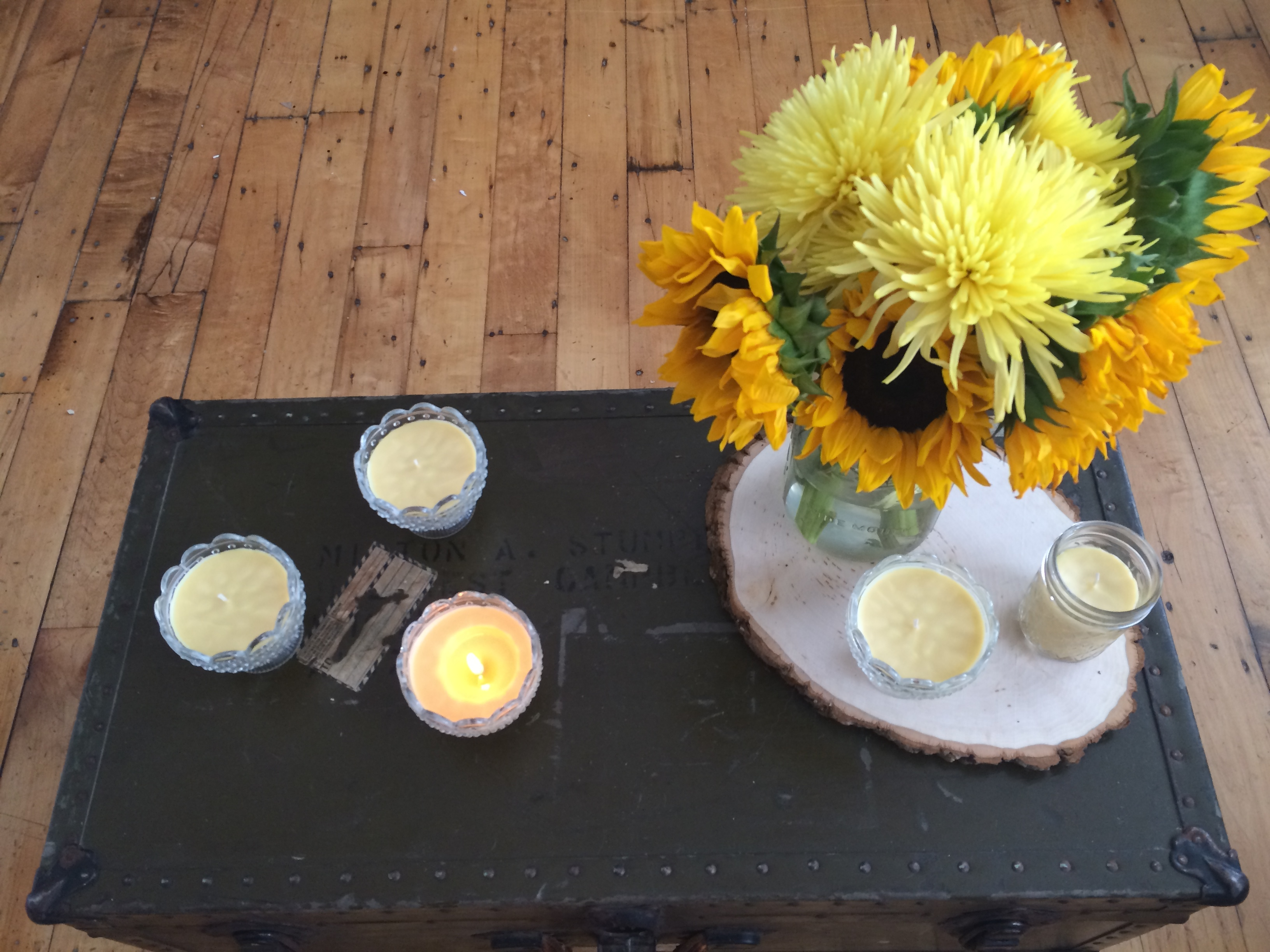 DIY Beeswax Candles | MrsAmberApple