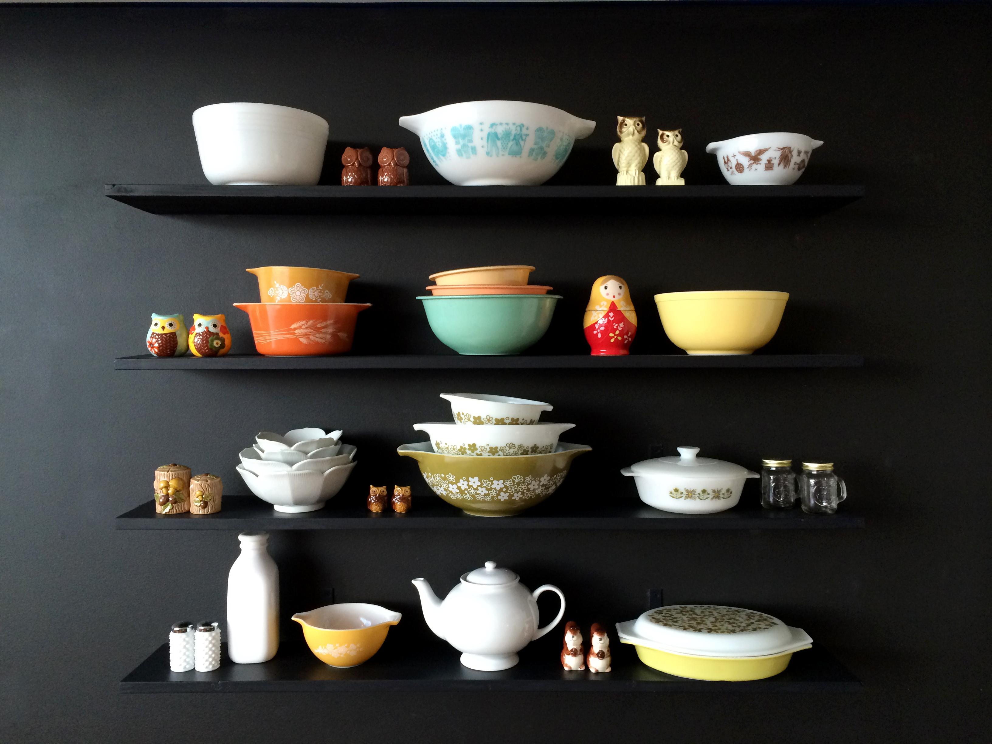diy kitchen shelves – mrs. amber apple