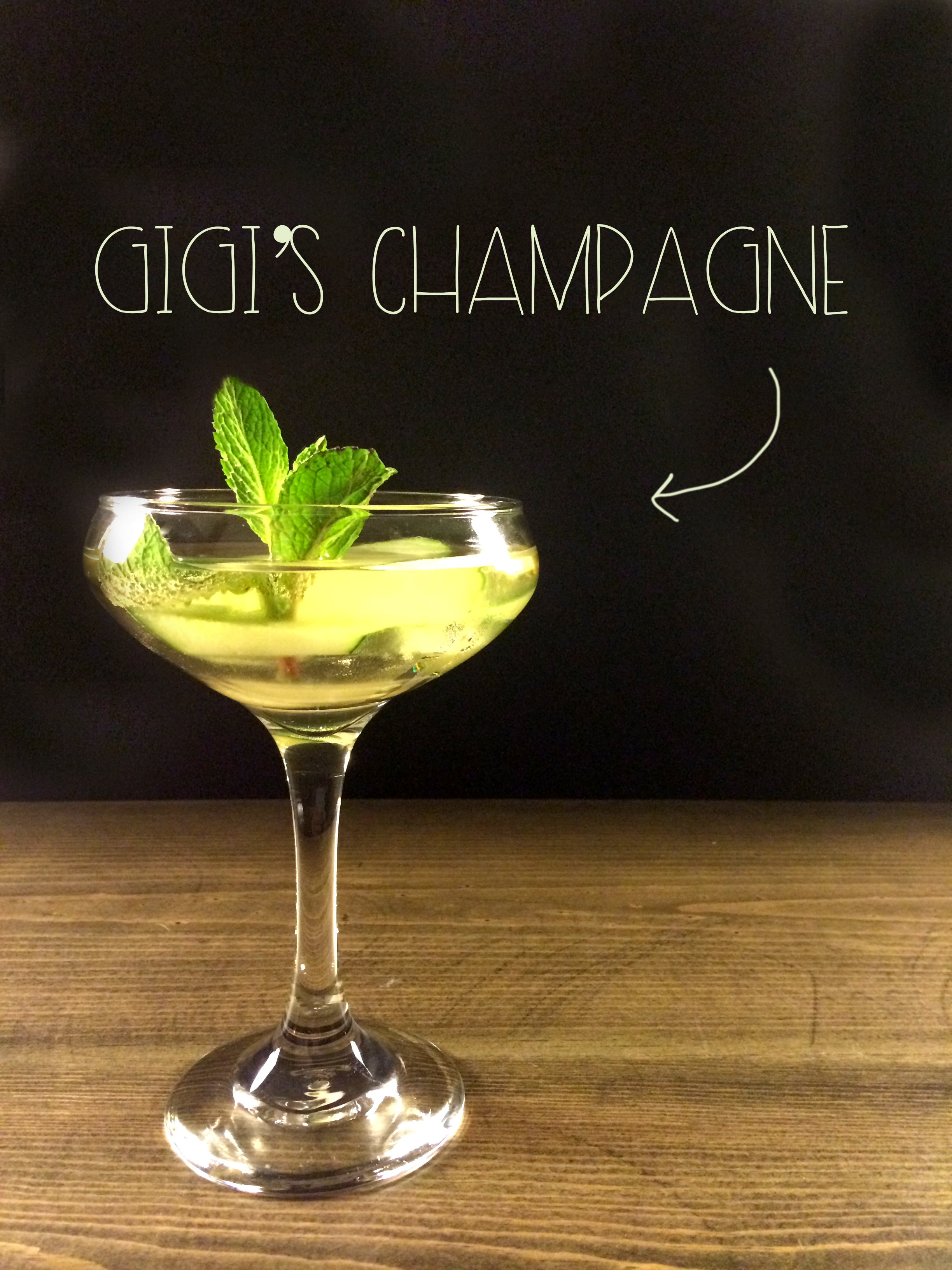 Gigi's Champagne | Red Autumn Co