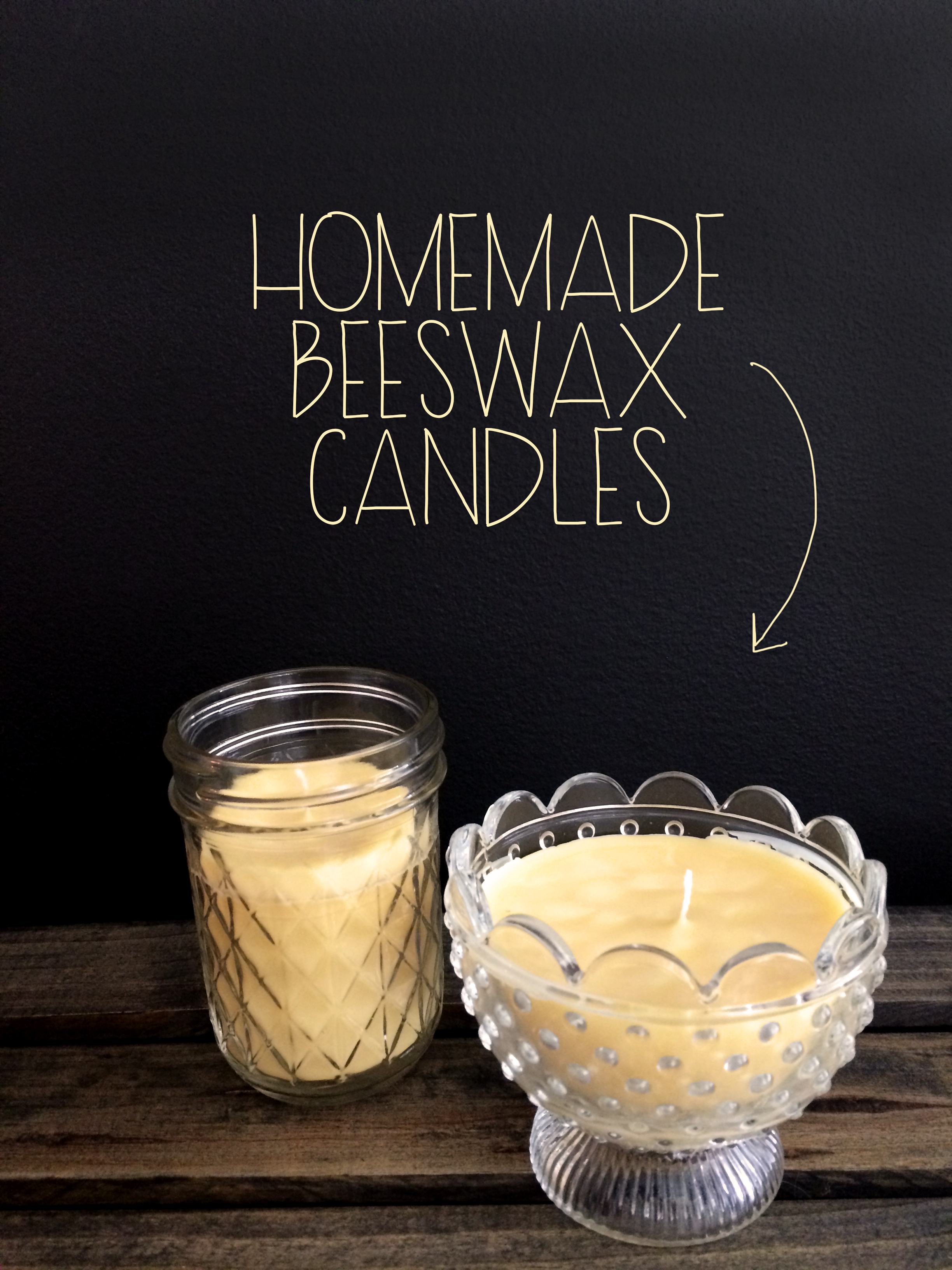 Homemade Beeswax Candles | MrsAmberApple