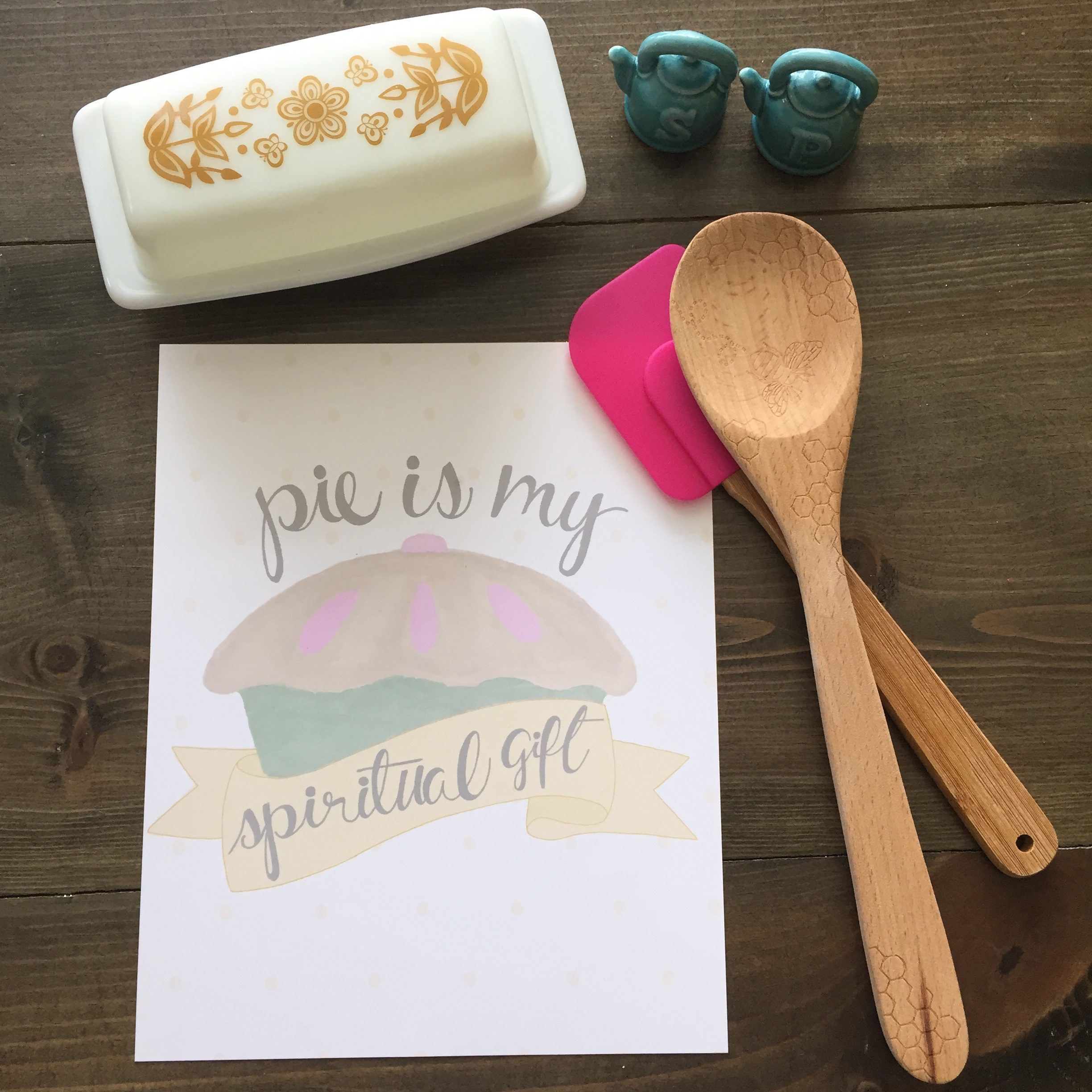 Pie Is My Spiritual Gift | Red Autumn Co.
