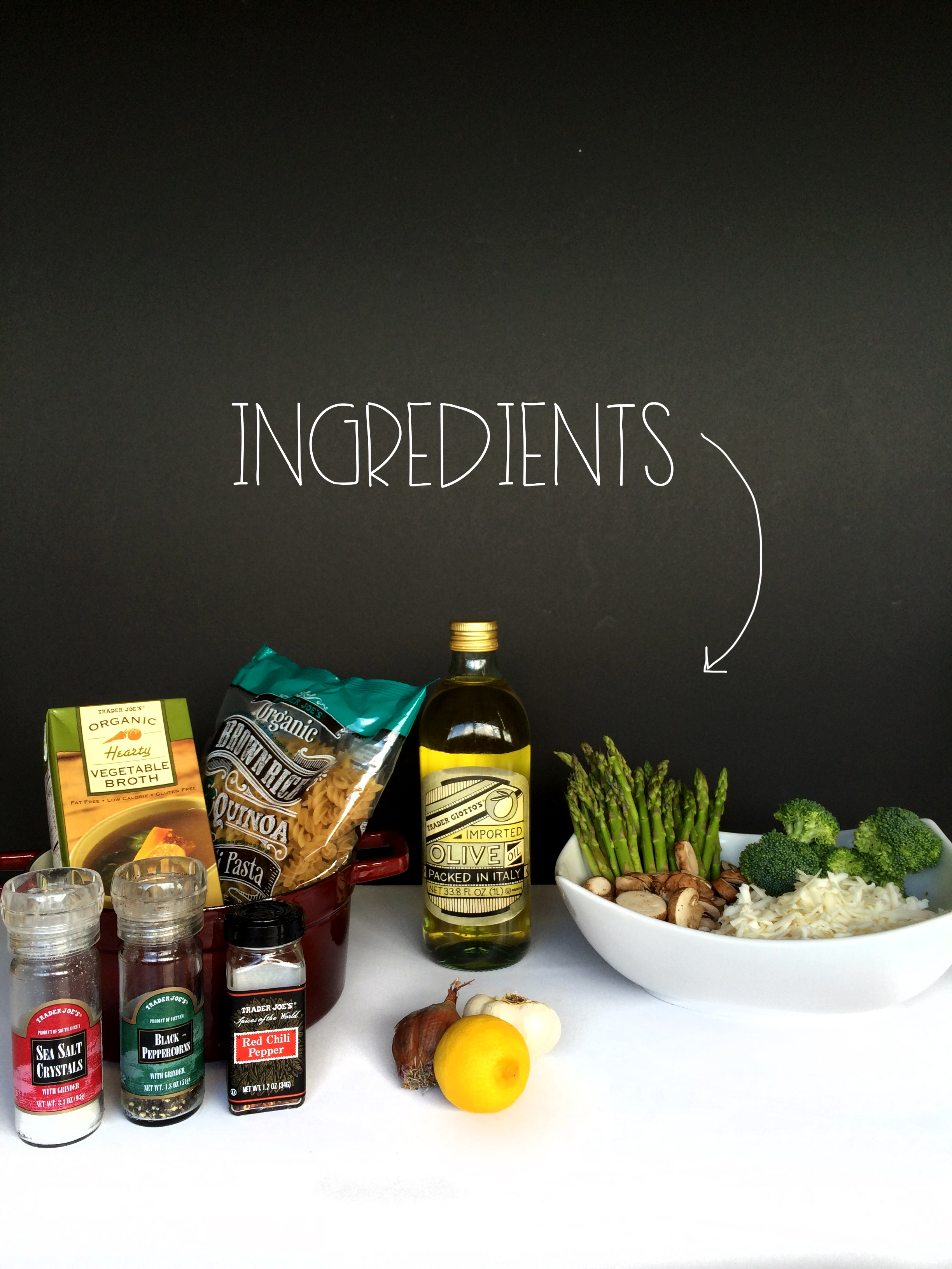 Ingredients | MrsAmberApple