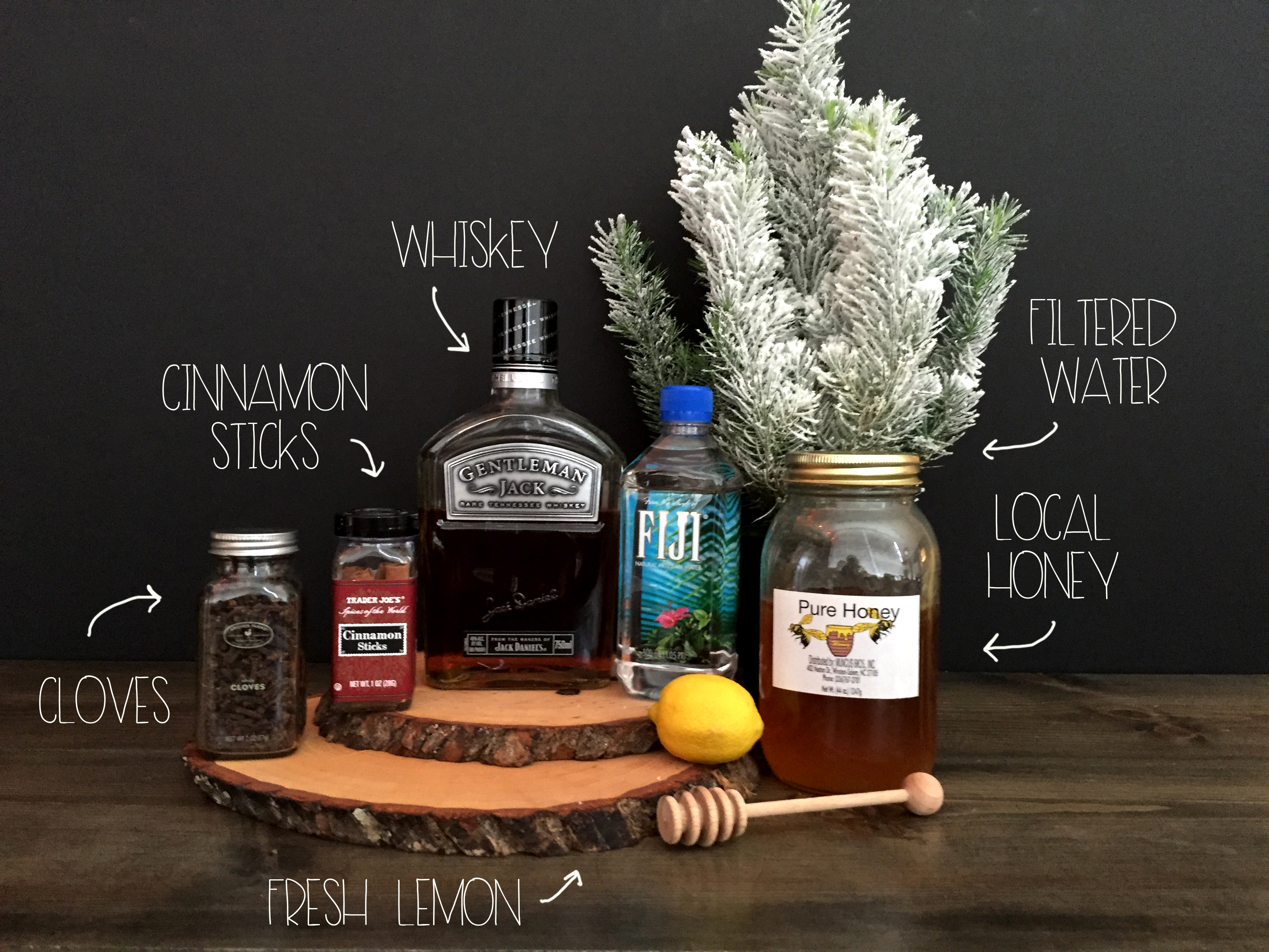 Ingredients Traditional Hot Toddy | Red Autumn Co