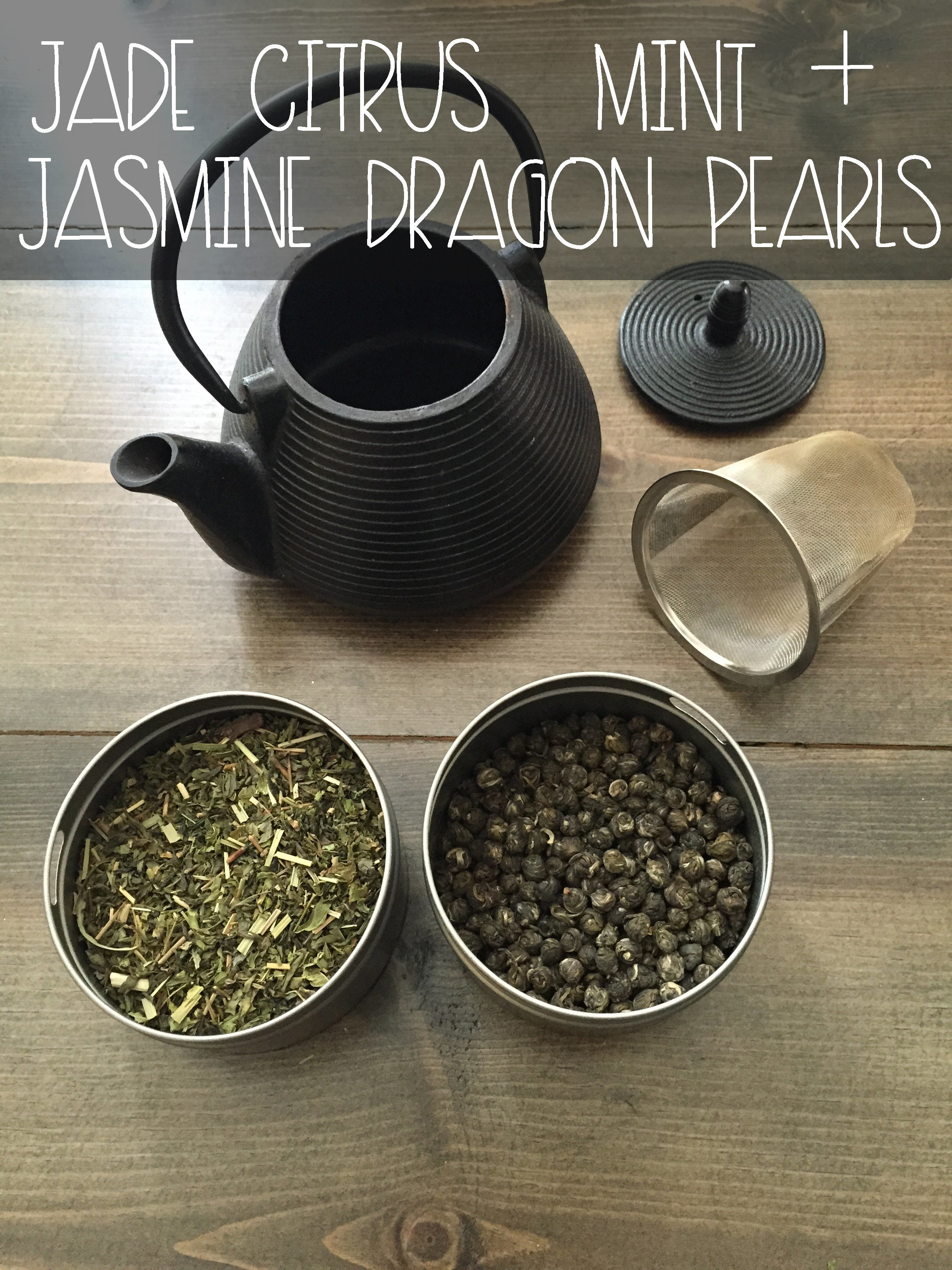 Jade Mint + Jasmine Pearl Green Tea