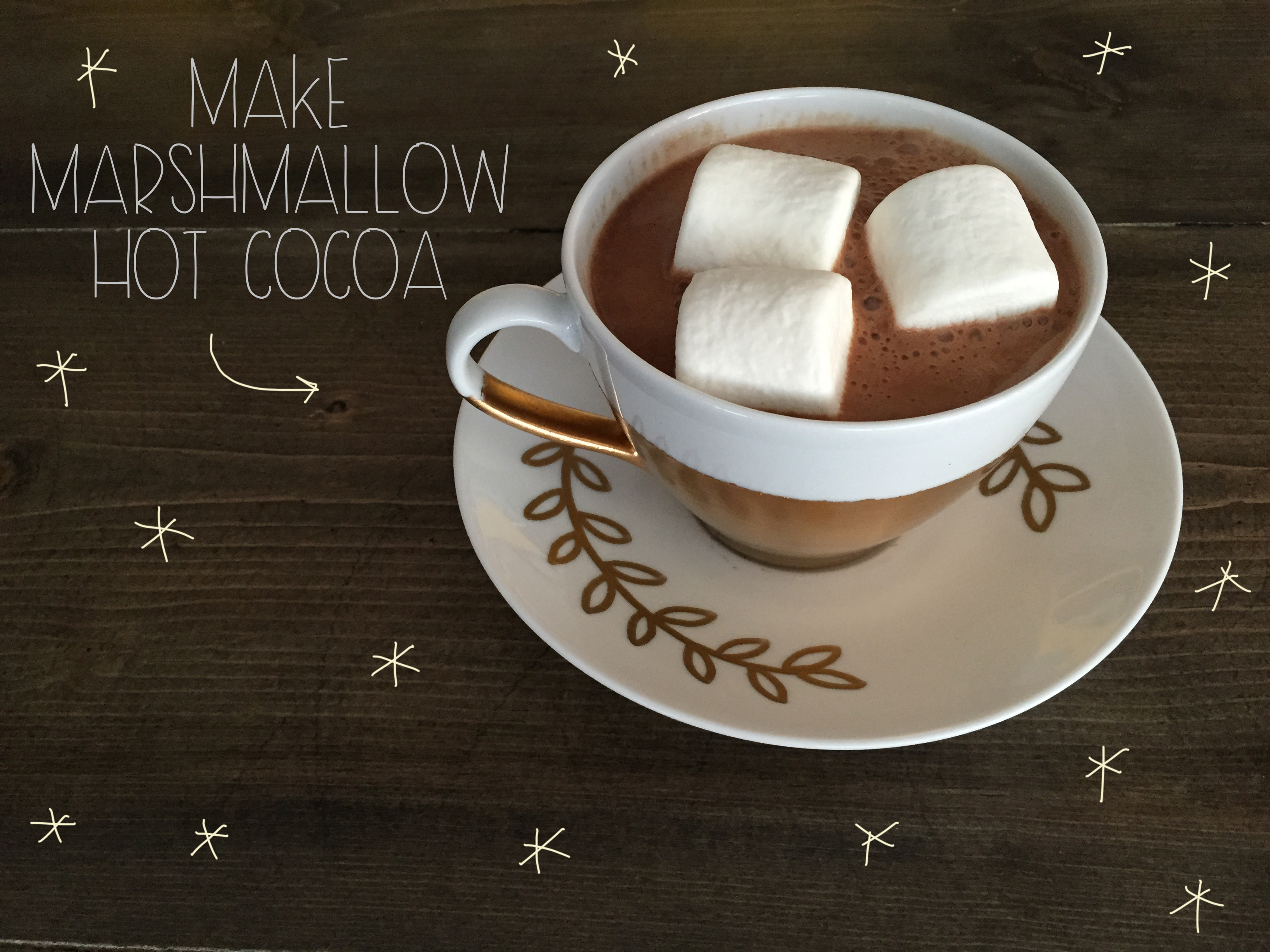 Marshmallow Hot Cocoa | Red Autumn Co