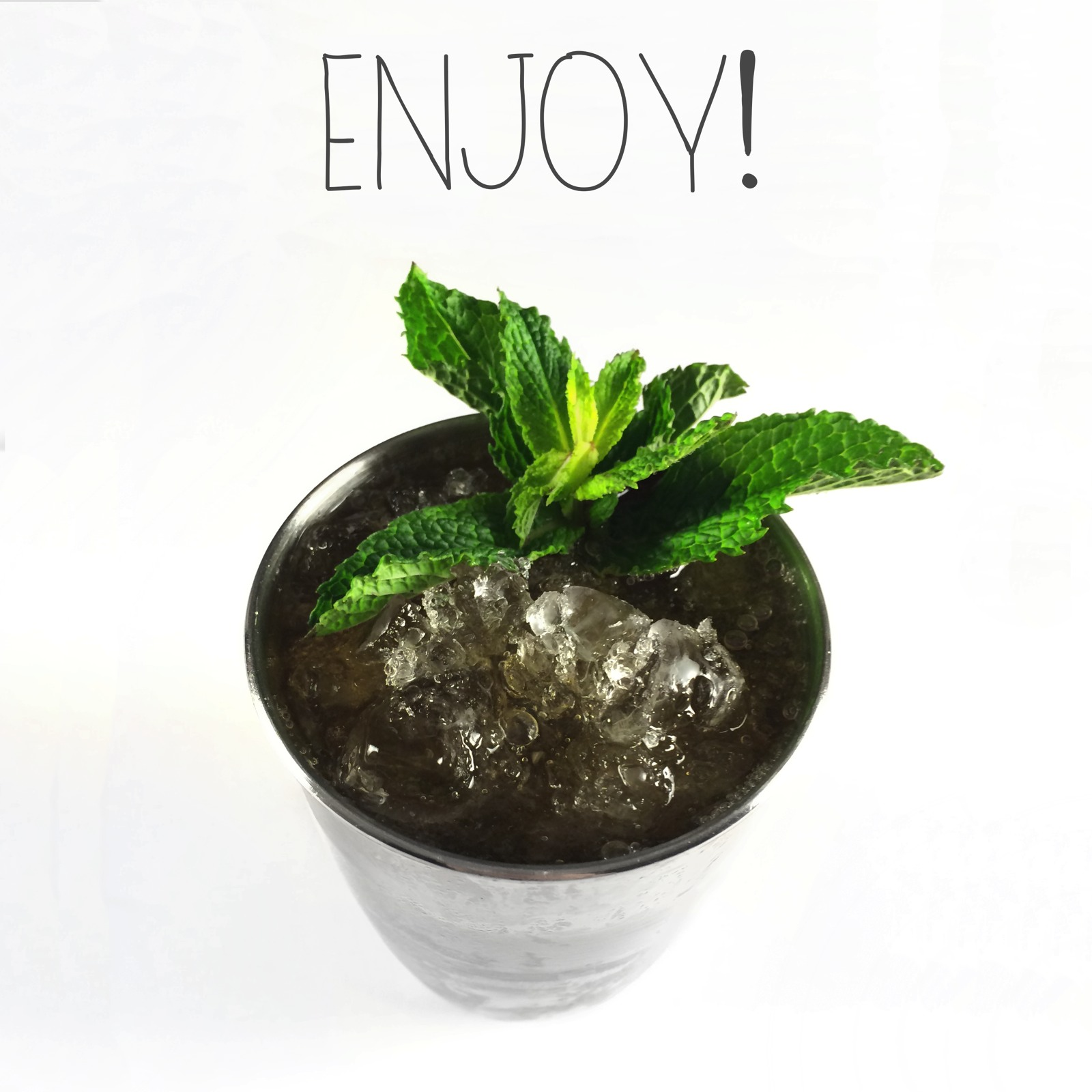 Mint Julep - Enjoy! - Mrs Amber Apple Blog