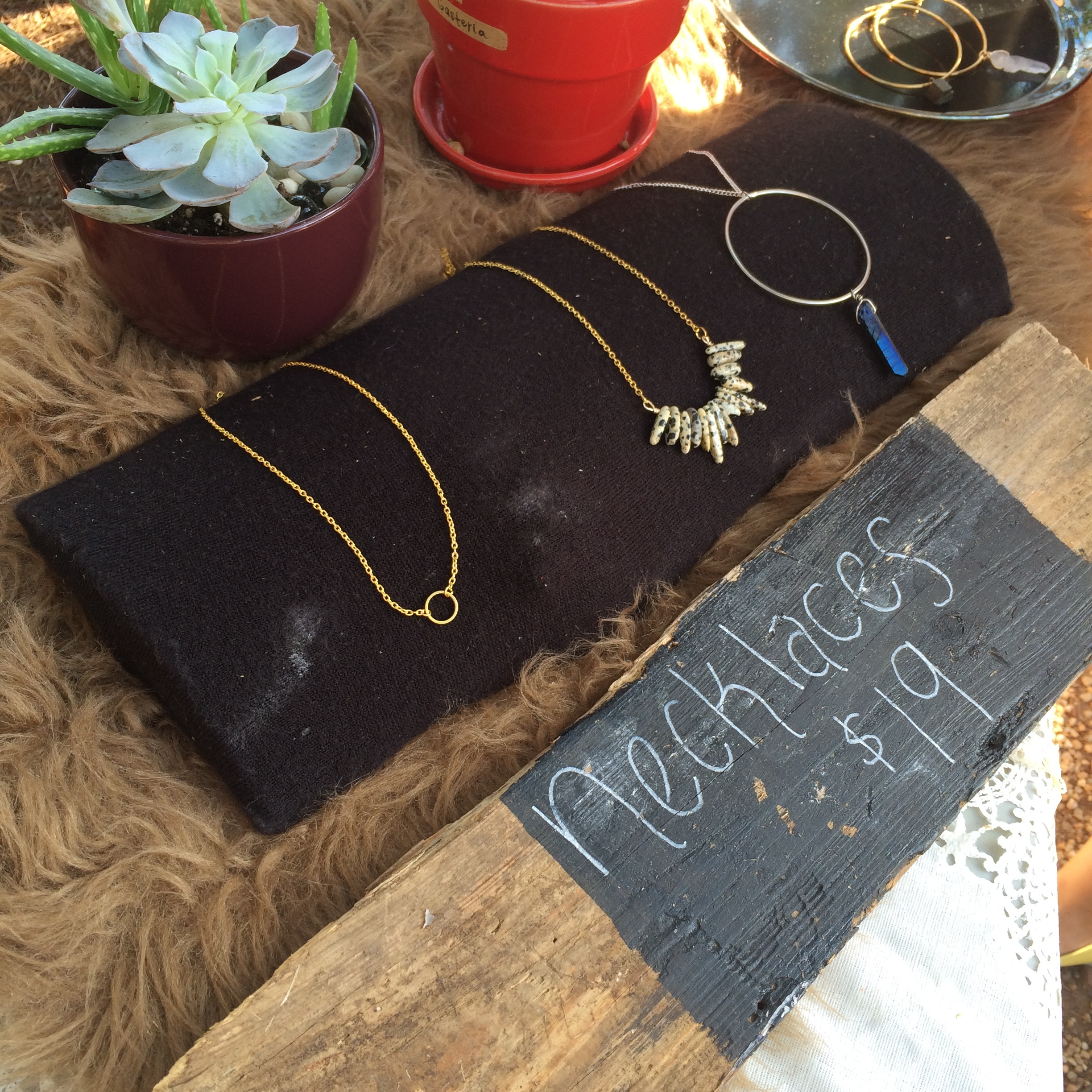 Necklaces Wind Blown | MrsAmberApple