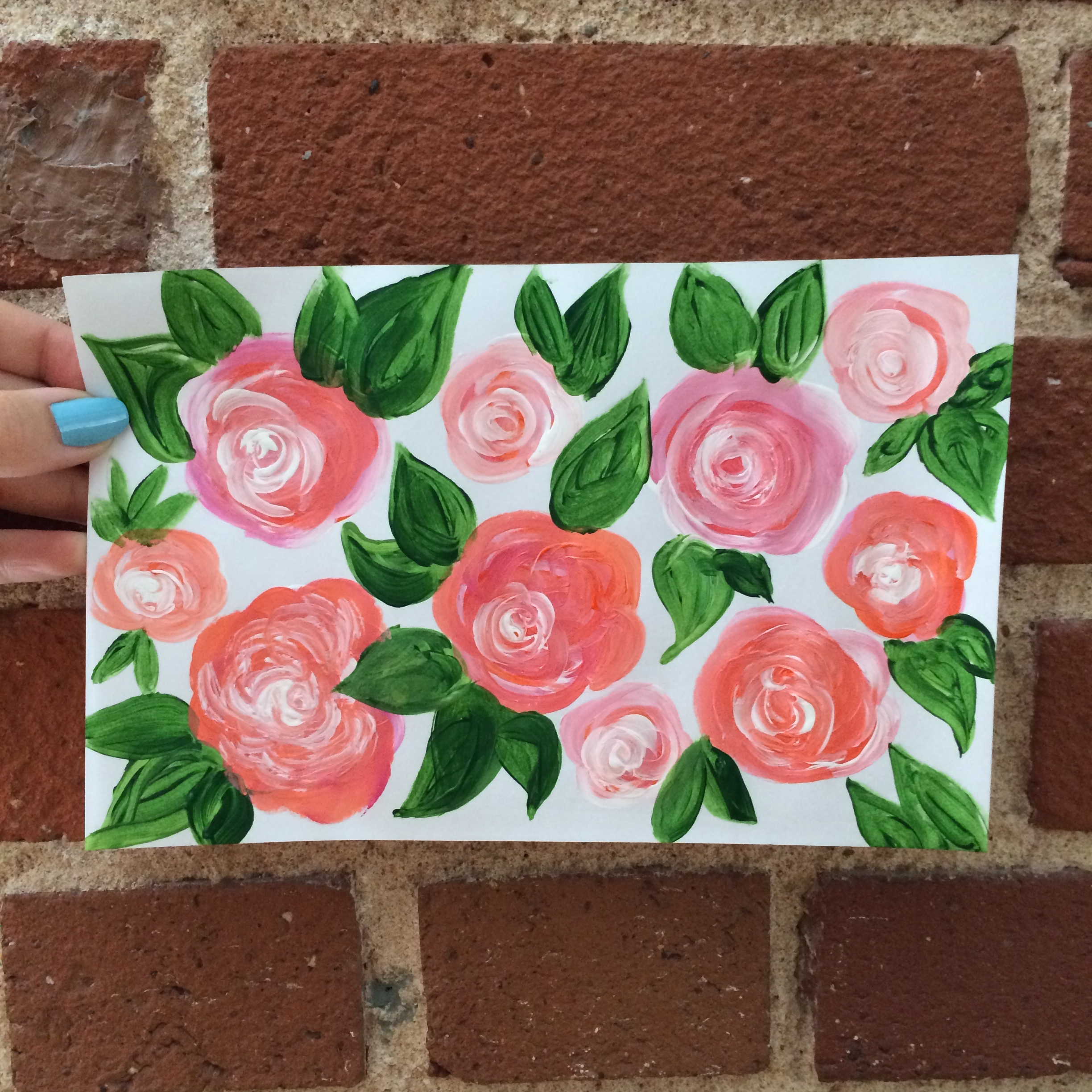 Rose Painting | MrsAmberApple