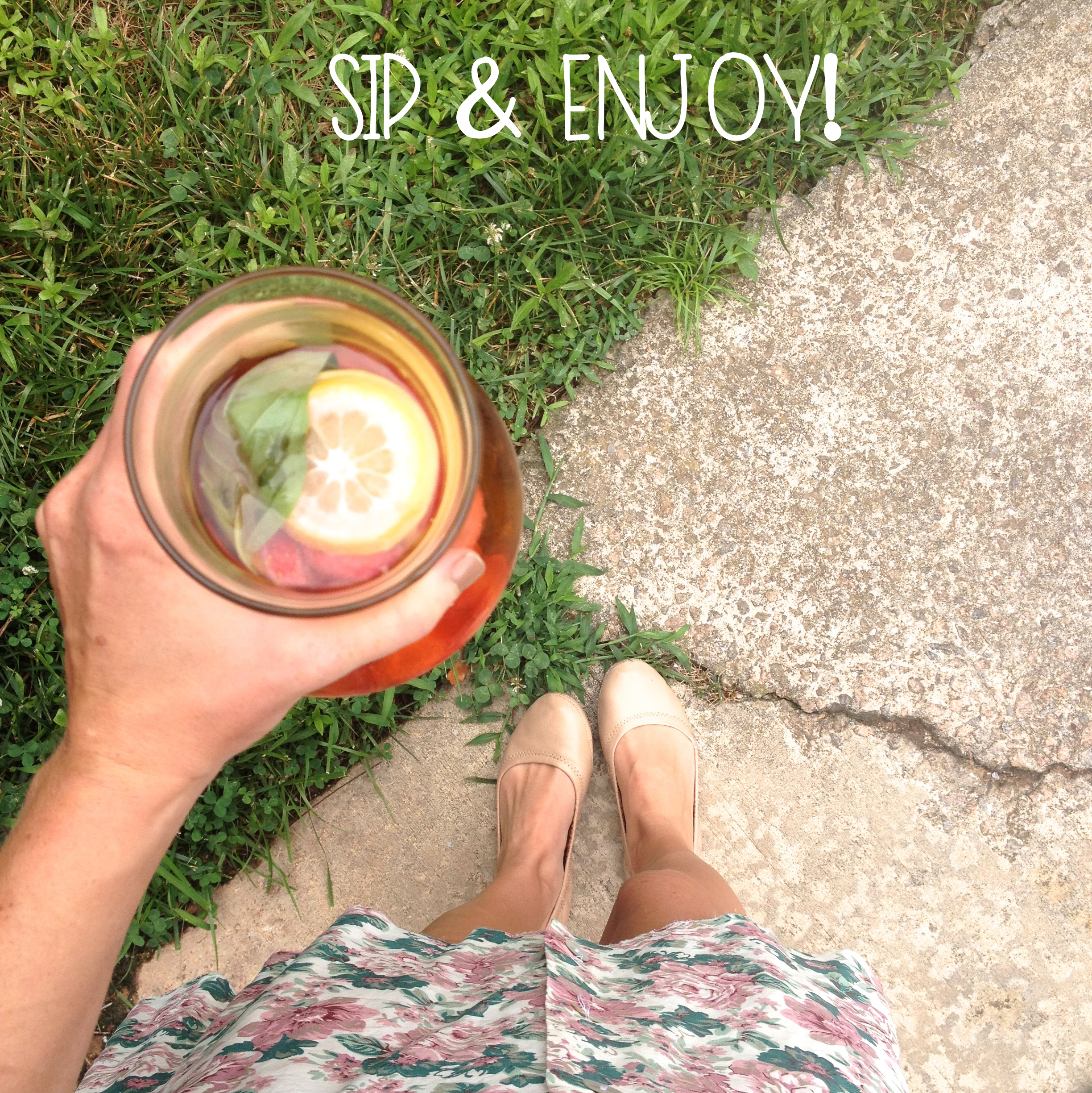 SIp and enjoy | MrsAmberApple