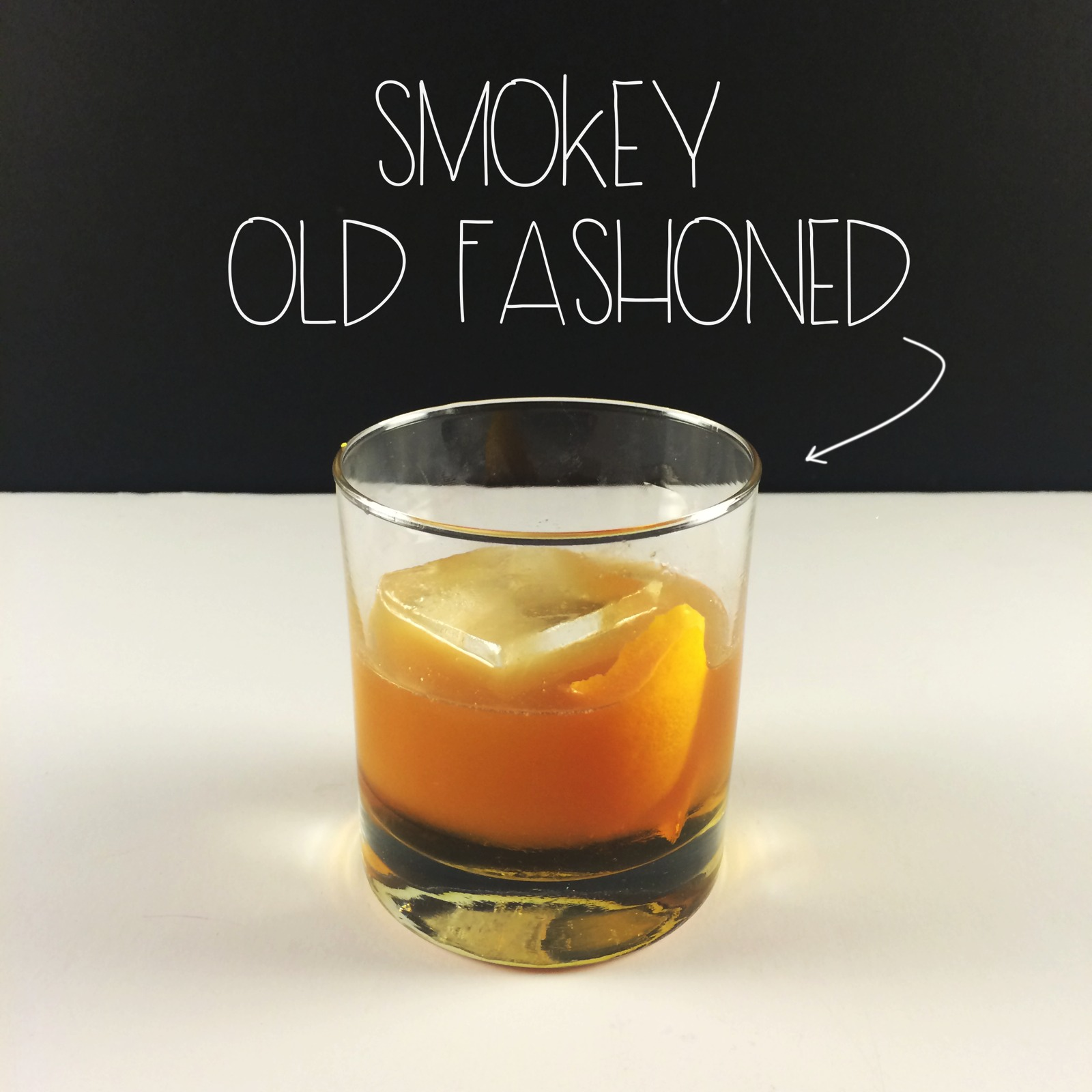 Smokey Old Fashioned - Title | MrsAmberAppleBlog