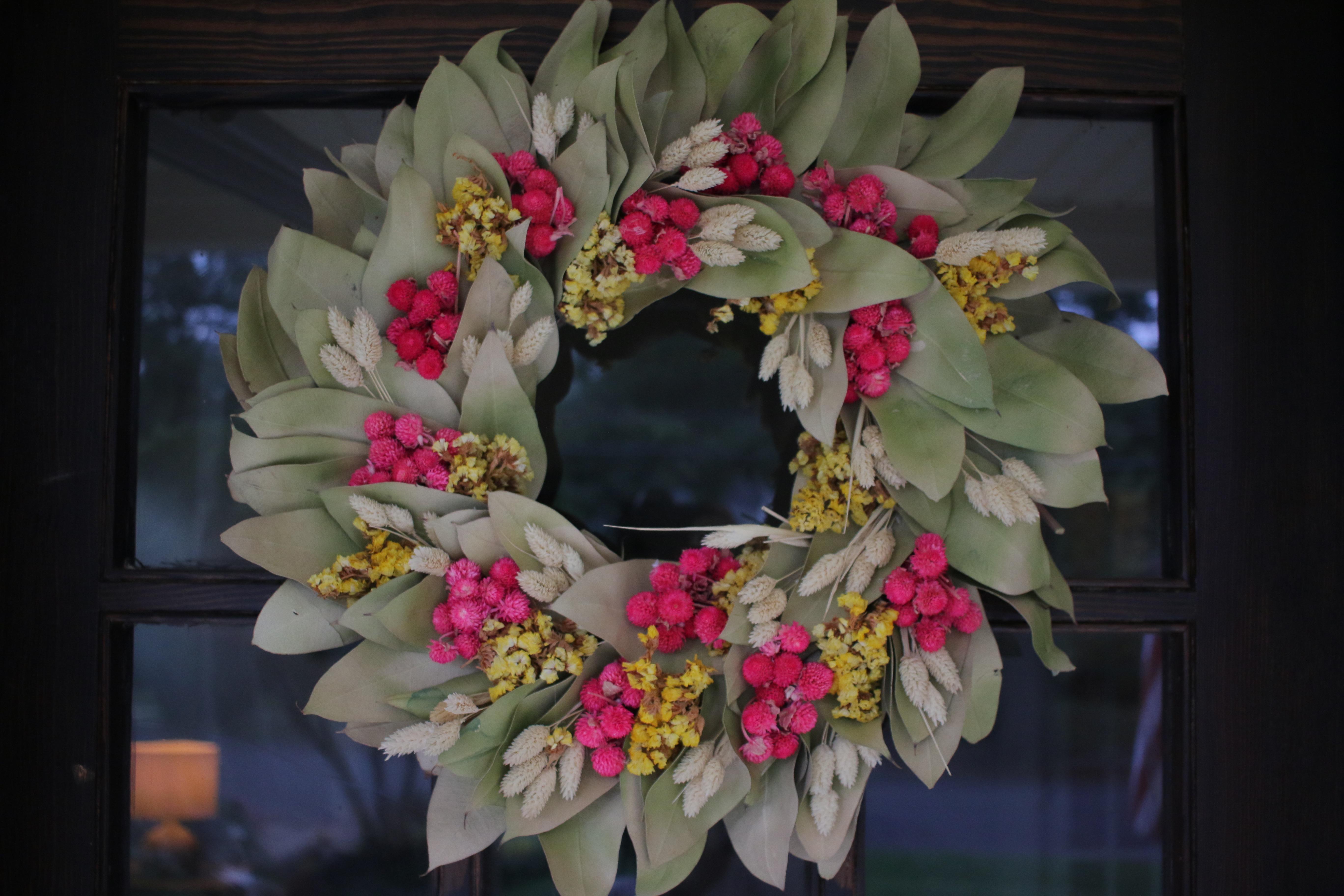 Target Door Wreath | MrsAmberApple