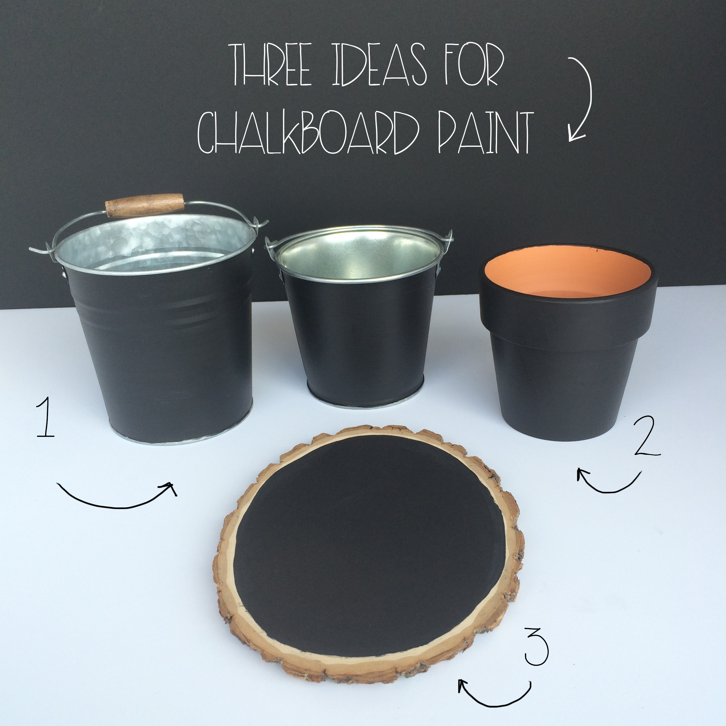 Three Ideas For Chalkboard Paint | MrsAmberAppleBlog