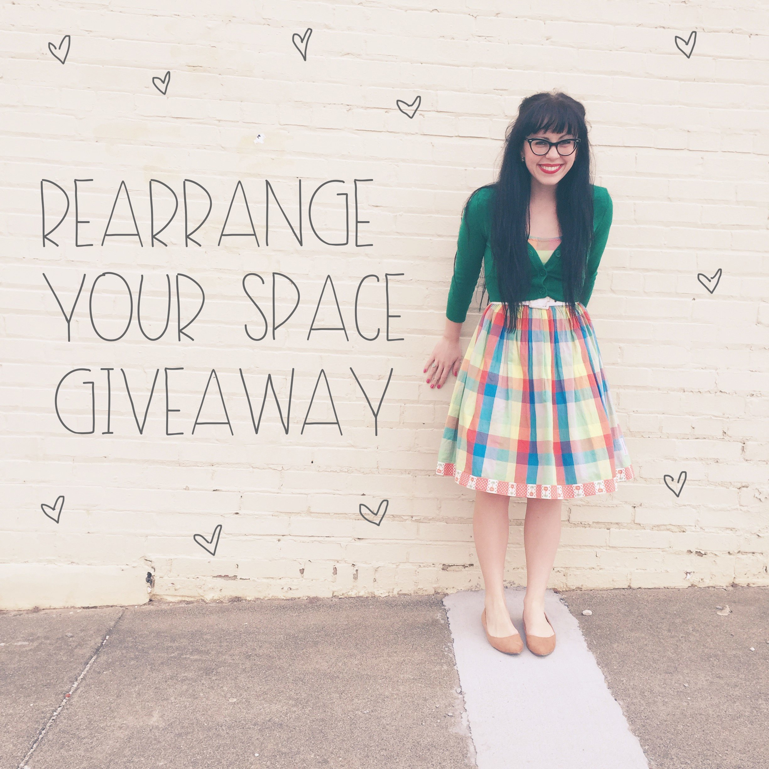 Rearrange your space giveaway | Red Autumn Co