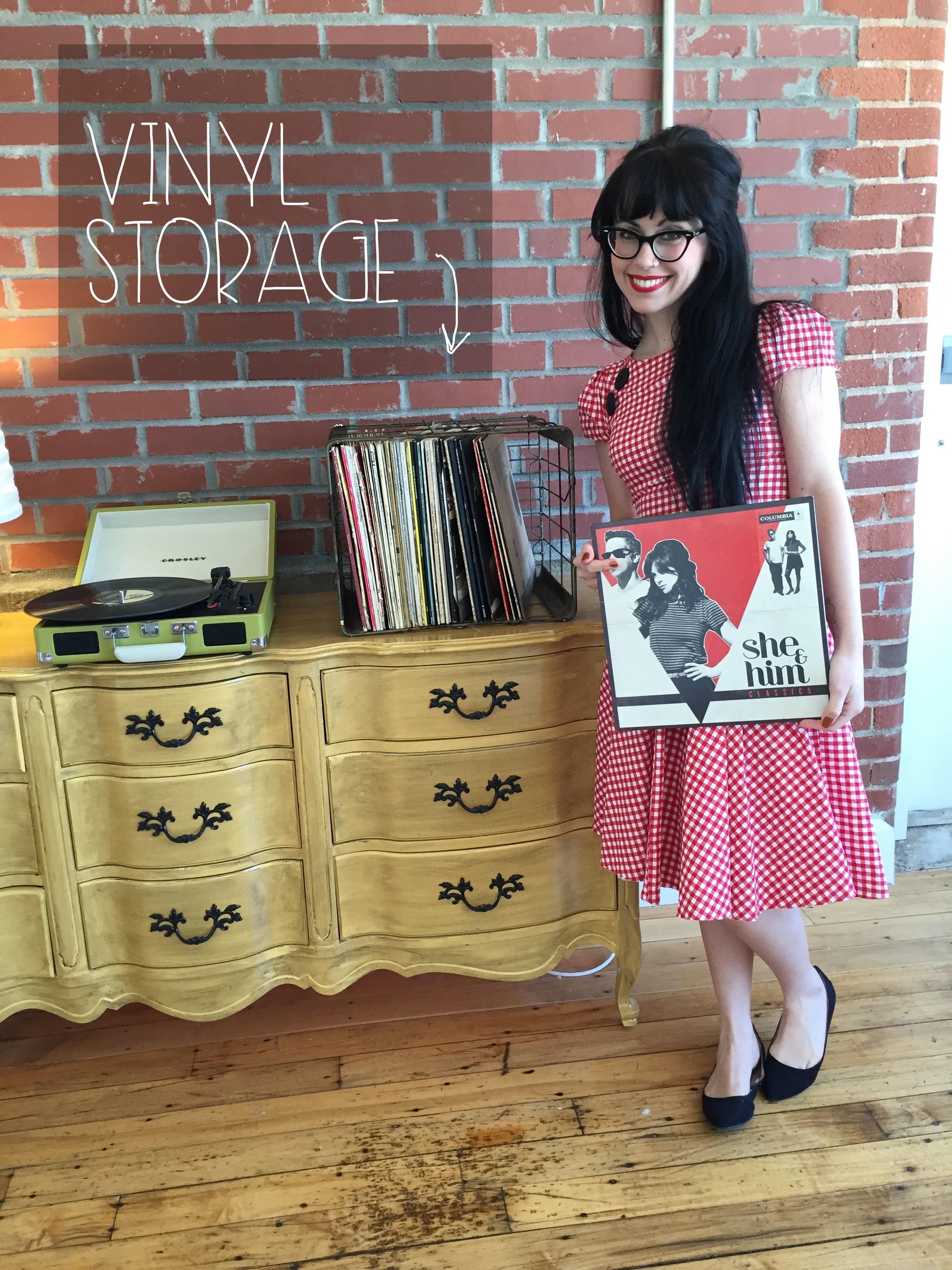 featured vinyl storage | Red Autumn Co
