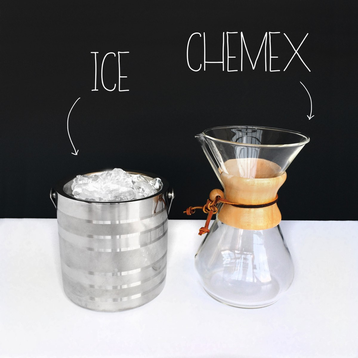 Iced Pour Over - Ingredients | Mrs Amber Apple Blog