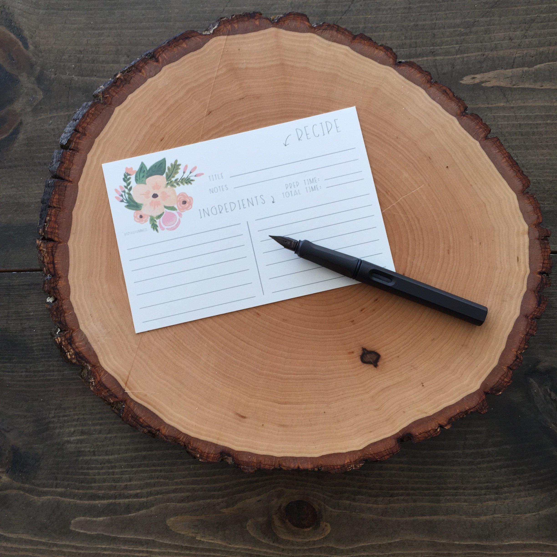 Recipe Card | Red Autumn Co.